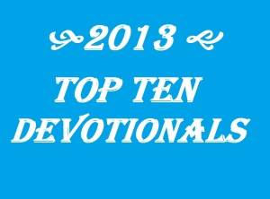 2013 Top Ten Devotionals